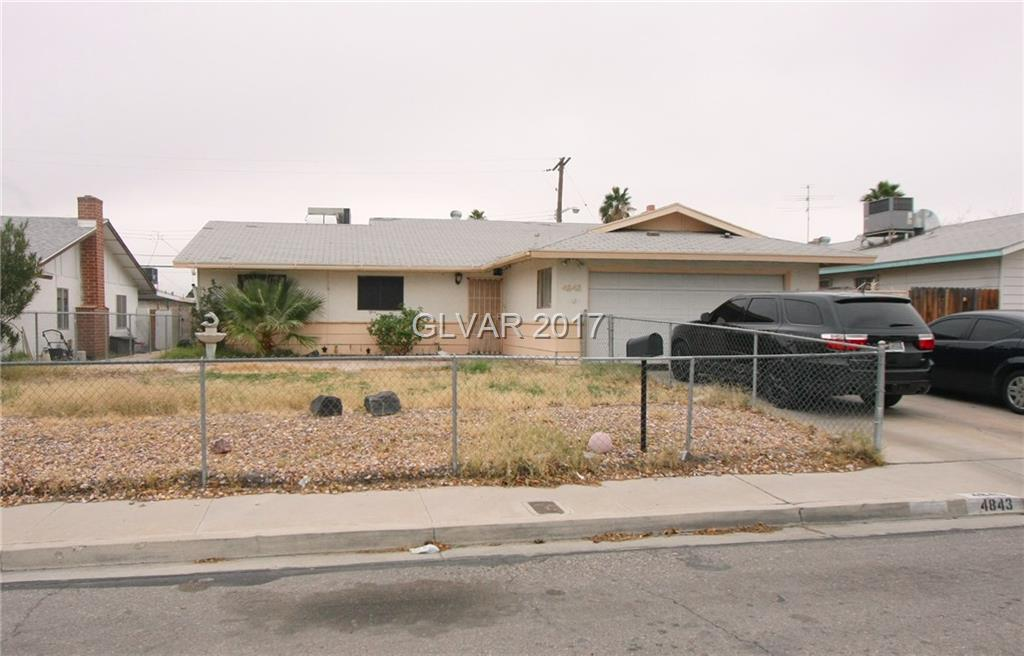 4843 FAIRFAX Avenue, Las Vegas, NV 89120