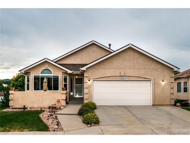 3660 Masters Drive, Colorado Springs, CO 80907