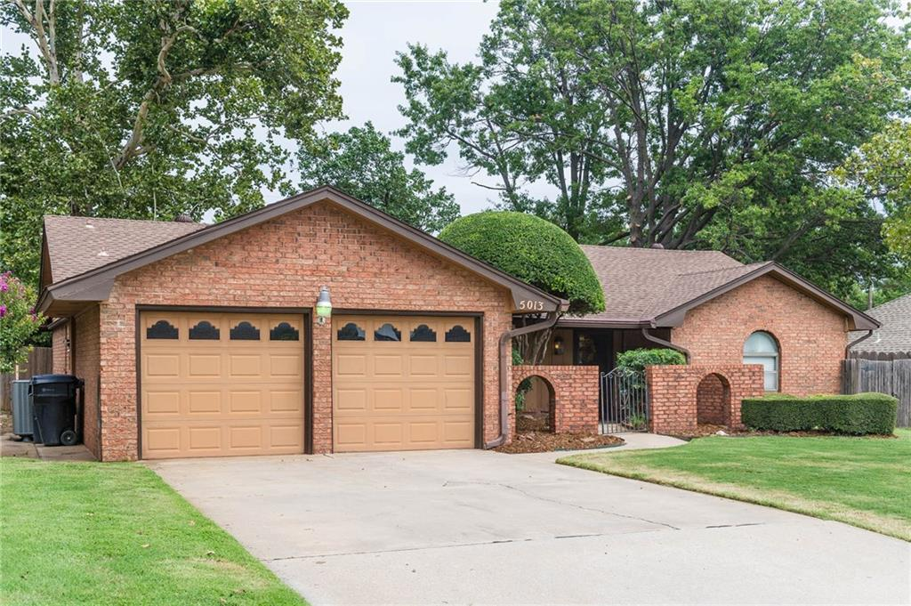 This unique home has lots of character and a low maintenance backyard with trees and decking for entertaining. Several of the high ticket items have been recently replaced!  Some updates include refinished flooring, New Efficient Amana Heating & Air 2016 w/overhead vents, hot water tank 2016, new water lines, new paint & carpet in all bedrooms & hallway 2017, new beautiful sliding glass door, exterior paint 2017 &  outdoor decking 2017!  With two large living areas and a space to accommodate a formal dining area, you'll be able to spread out in this home!  One of the 4 bedrooms conveniently adjoins the master.  That bedroom room could be convenient as a nursery,  workout room or office!  Lots of storage space and lots of options with this home!