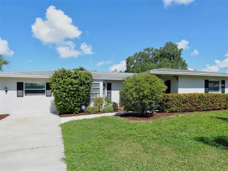 MOVE-IN READY GULF GATE POOL HOME!  This is a spacious residence w/ over 1500SF w/ 3Br, 2Ba & a climate controlled Florida Rm.  Upgraded w/ a newer roof (2011) w/ 4-Star Coverage; extended 50-yr duration & is fully transferrable (1x for 12yrs).  Plus the home has been re-piped (2006) & the pool has a new Krystal Krete finish w/ a 10-yr warranty.  Both of the baths have been updated in neutral finishes w/ modern cabinets.  Bonus features include tile & new carpet, w/ fresh paint in & out.  The kitch. Has refinished white cabinets w/ new hardware, a corner Bkfst bar, a pantry & all of the appls. remain.  MBr w/ huge walk-in that could be a flex space for many uses.  MBa w/ furn quality vanity & solid surface counter.  Screened lanai w/ covered entertainment area & a newly resurfaced pool (2015).  Fully fenced backyard.  This home is part of a deed restricted community w/ a voluntary association.  Sidewalks frame the peaceful streets of this neighborhood, making it easy to reach the Gulf Gate Public Library just across the street.  The location is known for its convenient address w/ a Riverview High district.  Close to beaches, golfing, Westfield Sarasota Square, Potter Park & Selby Aquatic Center as well as many other recreational venues; the YMCA, Legacy Trails, shopping, dining & more!