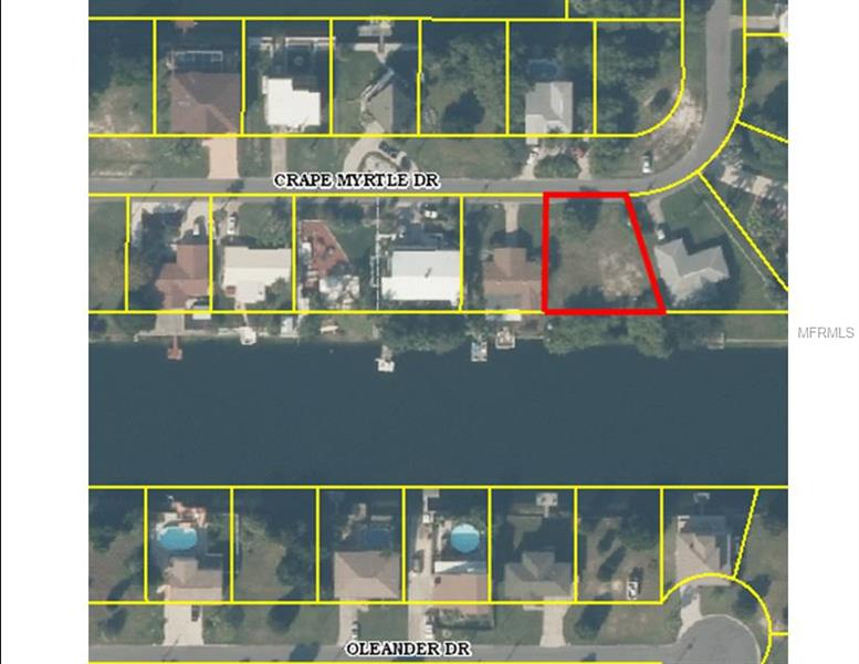 CRAPE MYRTLE DRIVE, HERNANDO BEACH, FL 24607