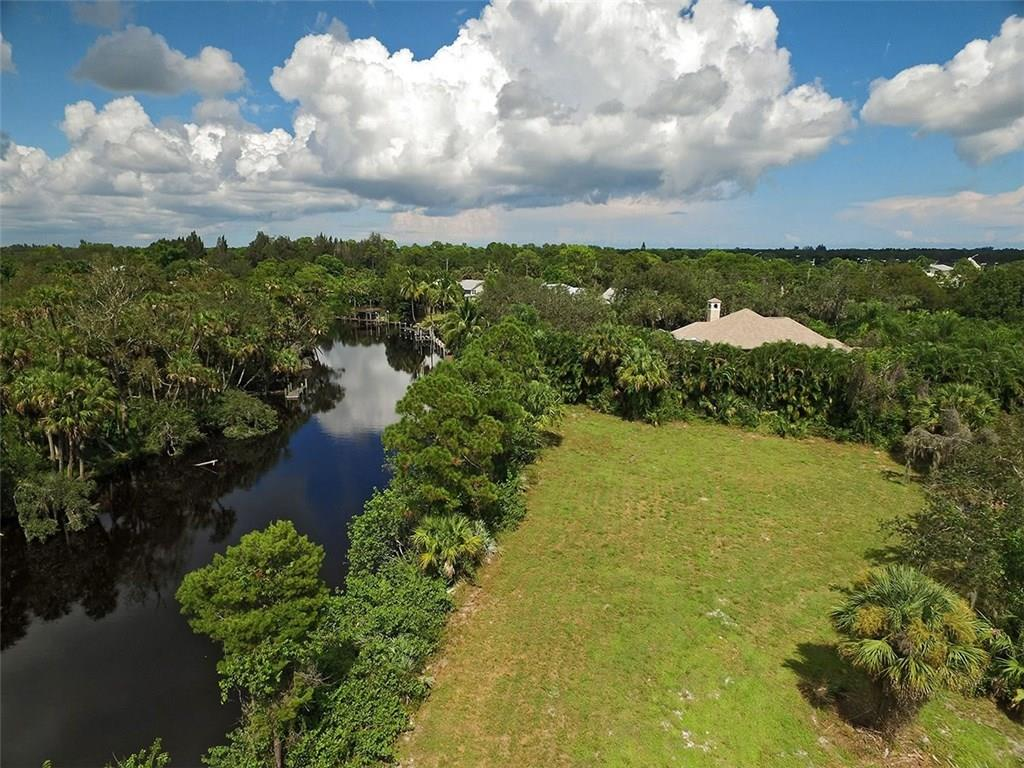 290 ft.+/- of water frontage! This beautiful lot sits just under 2/3 of an acre on a quiet cul-de-sac street with a protected deep water canal looking across to a preserve which can never be built on. It is wonderfully located in South Stuart, less than a mile from I-95 and less than 1/4 mile to Publix. Surrounding homes have sold recently from $1M and up. An old dock permit was in place years ago but it has expired and a new permit would need to be applied for.  The original dock permit was proposed with 90 ft. of protected dockage (owner states it is 6 ft. a low tide but that would need to be confirmed as well). NO HOA!