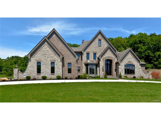 16927 Bottlebrush Ct. (Lot 40) Court, Chesterfield, MO 63005