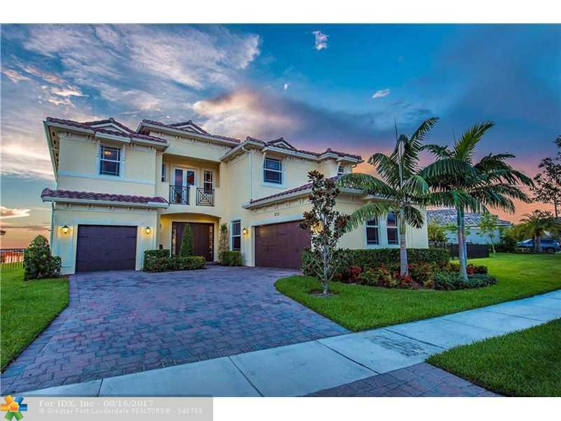 8751 Miralago Way, Parkland, FL 33076