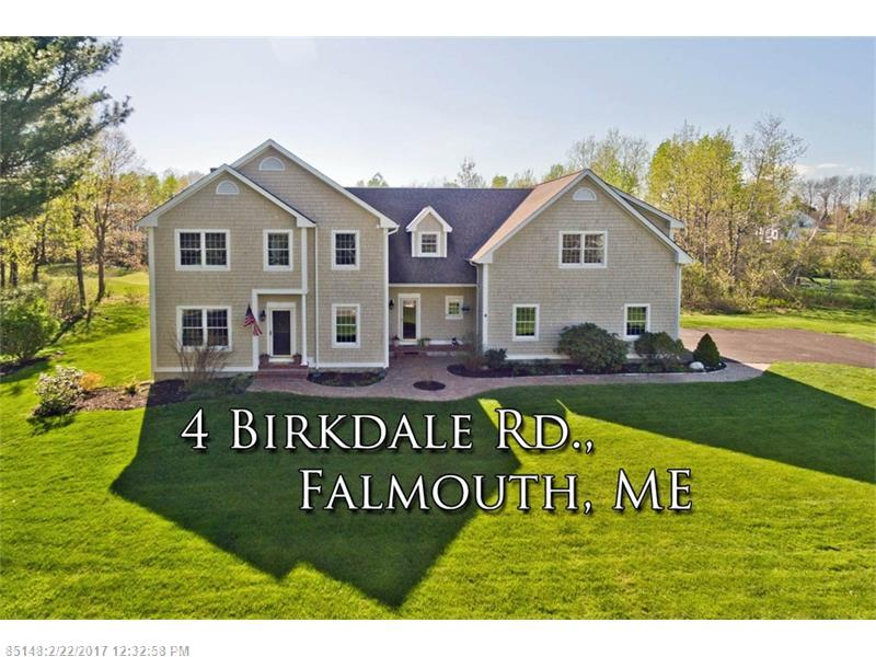 4 BIRKDALE RD , Falmouth, ME 04105