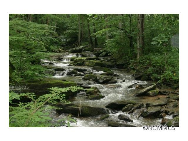 CREEKFRONT LOT1 of only 4 lots just came available in this small, pristine, creekside development. This is a wonderful opportunity to build your mountain home with the rushing sound of a mountain stream outside your door! Offered at $95,000
