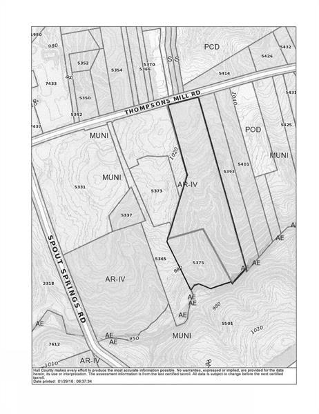 5381 THOMPSON MILL Road, Hoschton, GA 30548