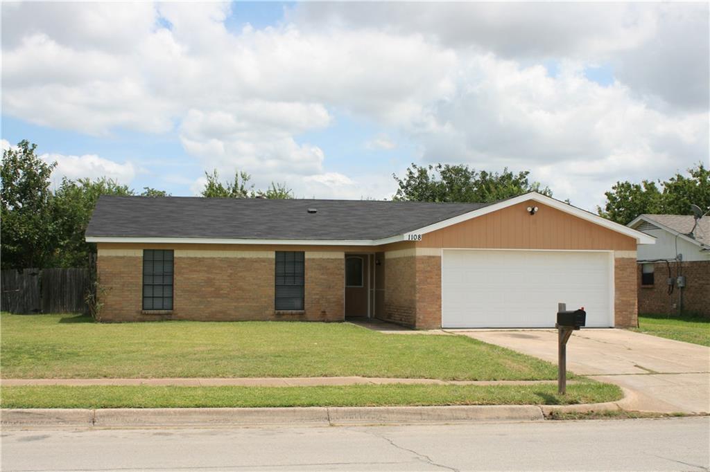 1108 N Knowles Drive, Saginaw, TX 76179