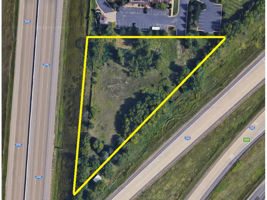 Centrally located commercial lot at the junction of I-35E & I-35W/ This 1.67-acre lot could be home to your new office, business, retail shop or other - the possibilities are endless! Have a business in the Metro & looking to grow? This location is the perfect addition! Less than 20 mins to the airport, MOA, downtown Mpls & St. Paul. Seconds to I-35, I-35E & I-35W. High traffic counts! Close to shopping, restaurants & more! 3 adjacent hotels, blocks from Burnsville Center & Fairview Hospital.