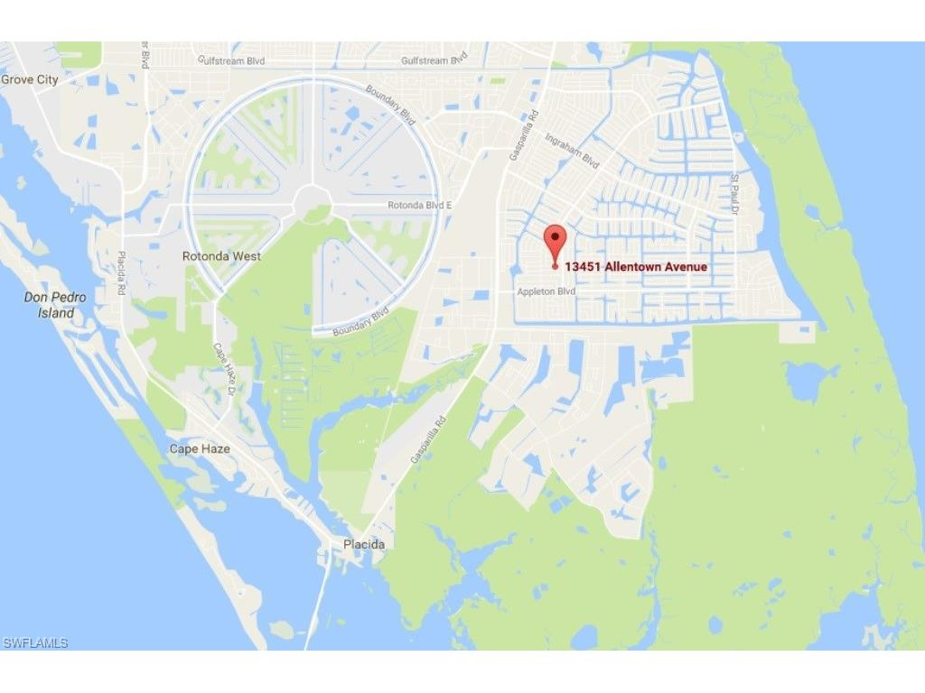13451 Allentown AVE, PORT CHARLOTTE, FL 33981