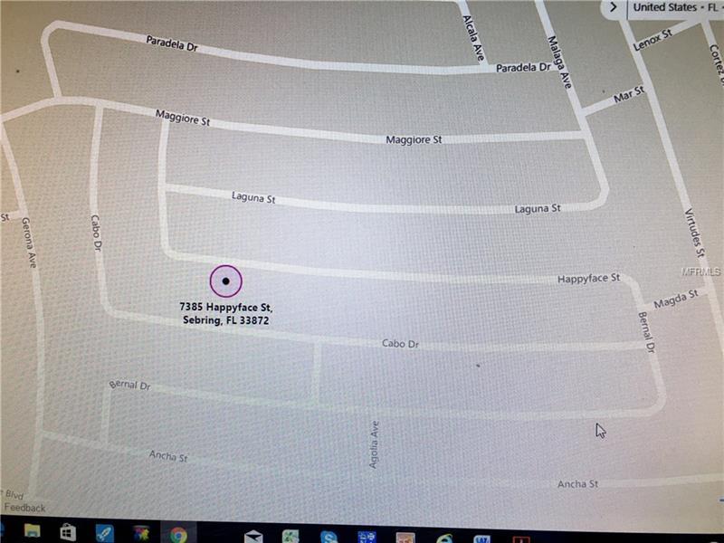 7385 HAPPYFACE STREET, SEBRING, FL 33872