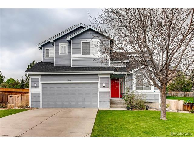 538 English Sparrow Trail, Highlands Ranch, CO 80129