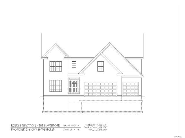 The Haverford (to be built), Ballwin, MO 63021