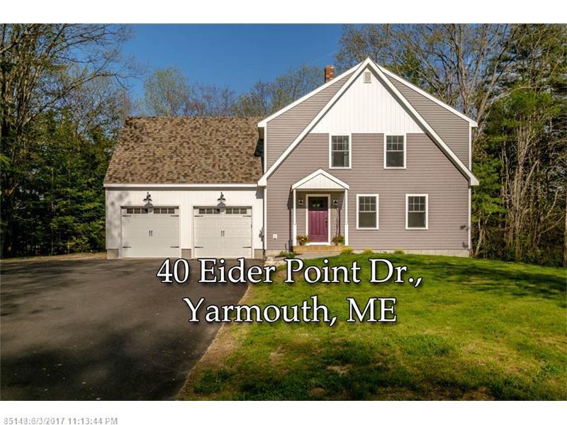 40 Eider Point DR , Yarmouth, ME 04096