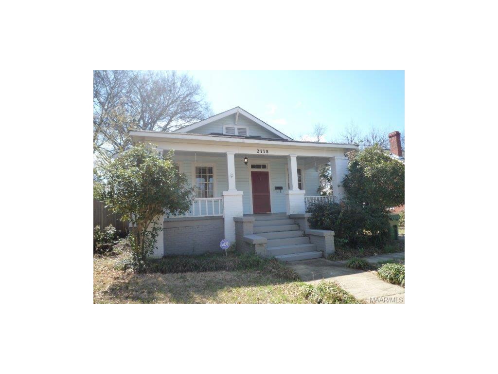 2118 WINONA Avenue, Montgomery, AL 36107