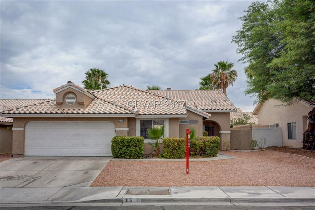 3115 ATWATER Drive, North Las Vegas, NV 89032