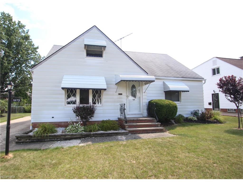 1673 Rush Rd, Wickliffe, OH 44092