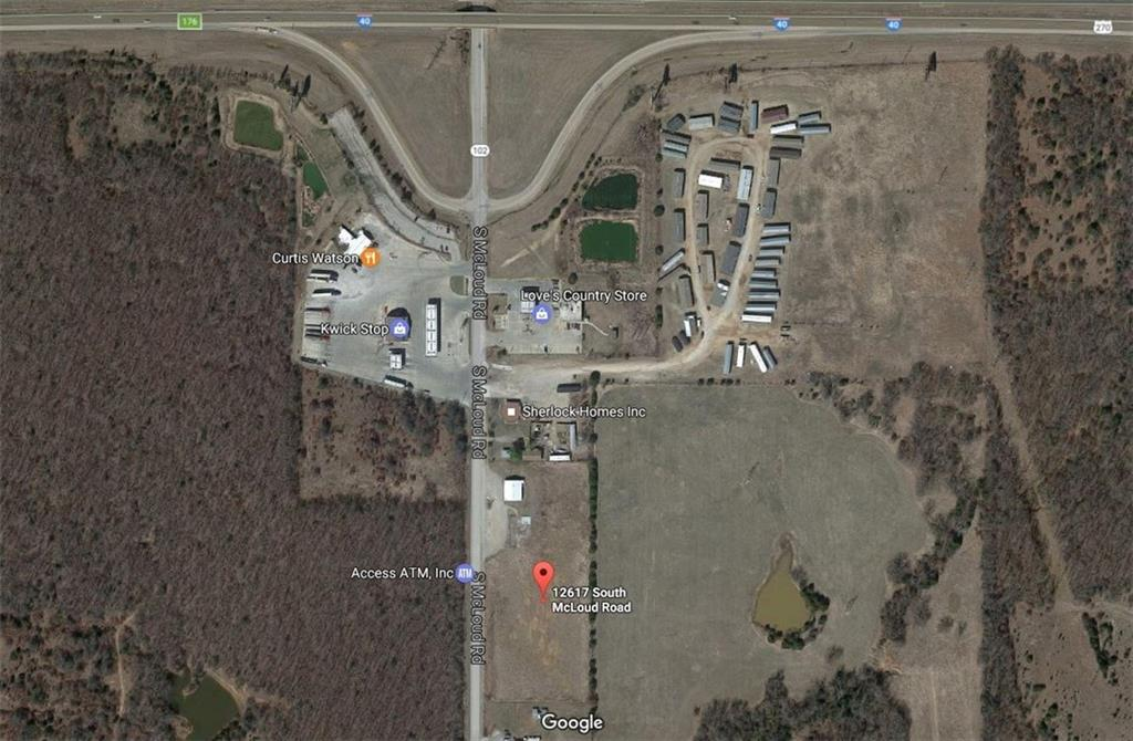12617 S Mcloud Road, McLoud, OK 74851