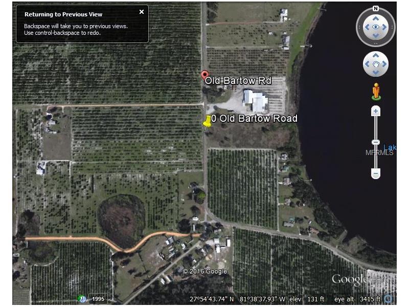 OLD BARTOW ROAD, LAKE WALES, FL 33859