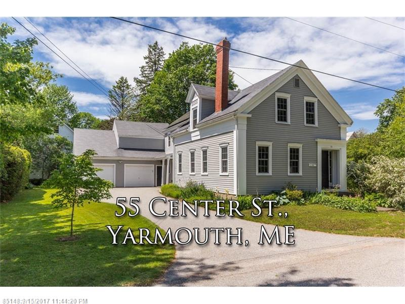 55 Center ST , Yarmouth, ME 04096