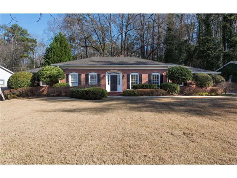 4225 NE Lake Forrest Drive, Atlanta, GA 30342