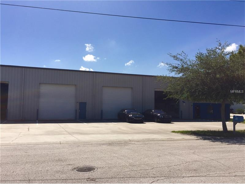 This is a 12,500+/- SF warehouse building located in Odessa FL located within the desirable West Pasco Industrial Park. The building was built in 2003 on .616 +/- acre. The building has approximately 1500 +/- of quality office space and separate break room. There are 9 14'x11' grade level overhead doors. The building also has 2 baths and offer three phase electric