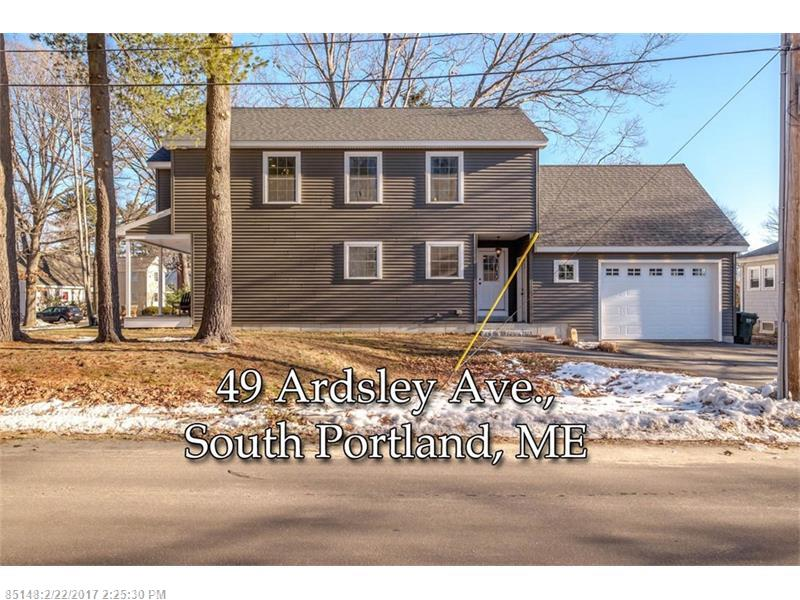 49 Ardsley AVE , South Portland, ME 04106