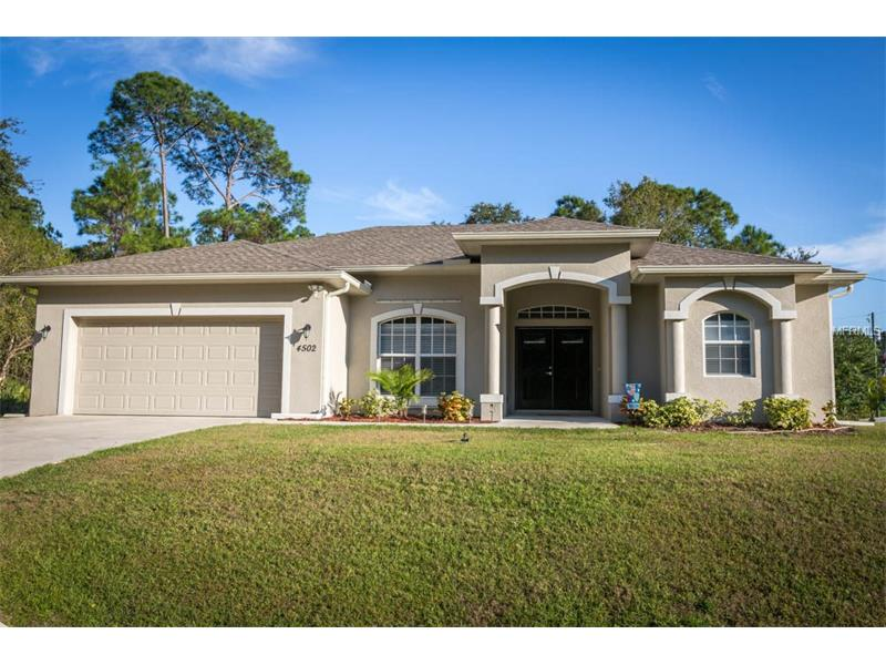 4502 TAHITI STREET, NORTH PORT, FL 34286