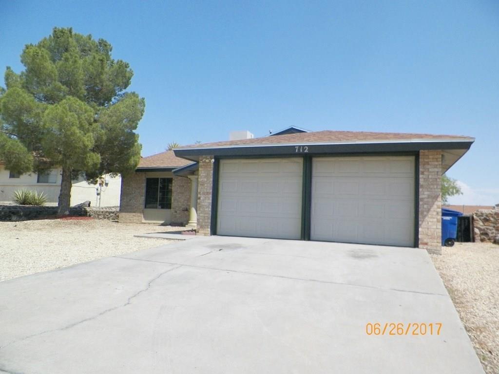 712 Porras Drive, El Paso, TX 79912