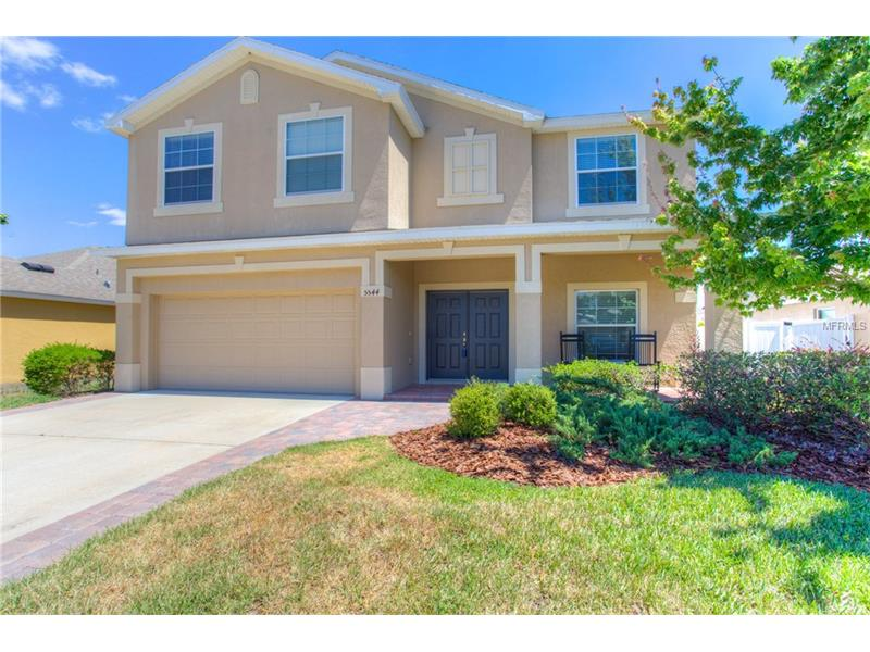 """Charming and immaculately maintained move in ready 4 bedroom, 2.5 bathroom 2462 SF Dupree Lakes 2 story home! New A/C (2017, 1 unit!) Ideal for entertaining the kitchen features 42"""" wood cabinetry, Corian countertops, breakfast bar, stainless steel appliances, island, pantry & storage closet all opening to the comfortable family room and airy breakfast area. The master retreat is huge and includes its own sitting/bonus area, 2 roomy walk in closets, master bathroom with inviting garden tub, dual sinks and & separate walk-in shower. The second floor also includes 3 secondary bedrooms, a full bathroom, & laundry. Large fenced yard and covered lanai! Enjoy the energy efficiency of this newer home with double-pane thermal windows, R-38 attic insulation, and advanced sealing techniques for less air leakage. DUPREE LAKES COMMUNITY is surrounded by peaceful conservation and walking trails, offering many amenities including: community pool, clubhouse, basketball/tennis courts, and more! Conveniently located close to shopping, dining, with easy access to downtown Tampa!"""
