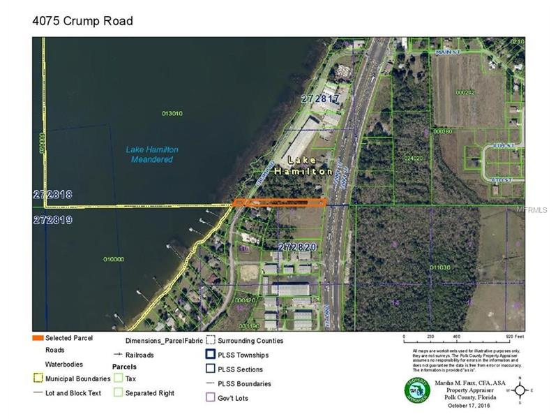 4075 CRUMP ROAD, LAKE HAMILTON, FL 33851