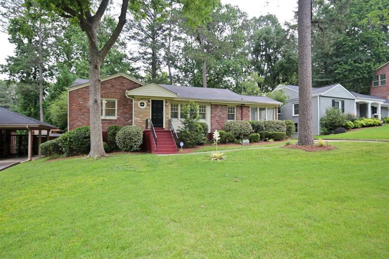 1222 NE Briar Hills Drive, Atlanta, GA 30306