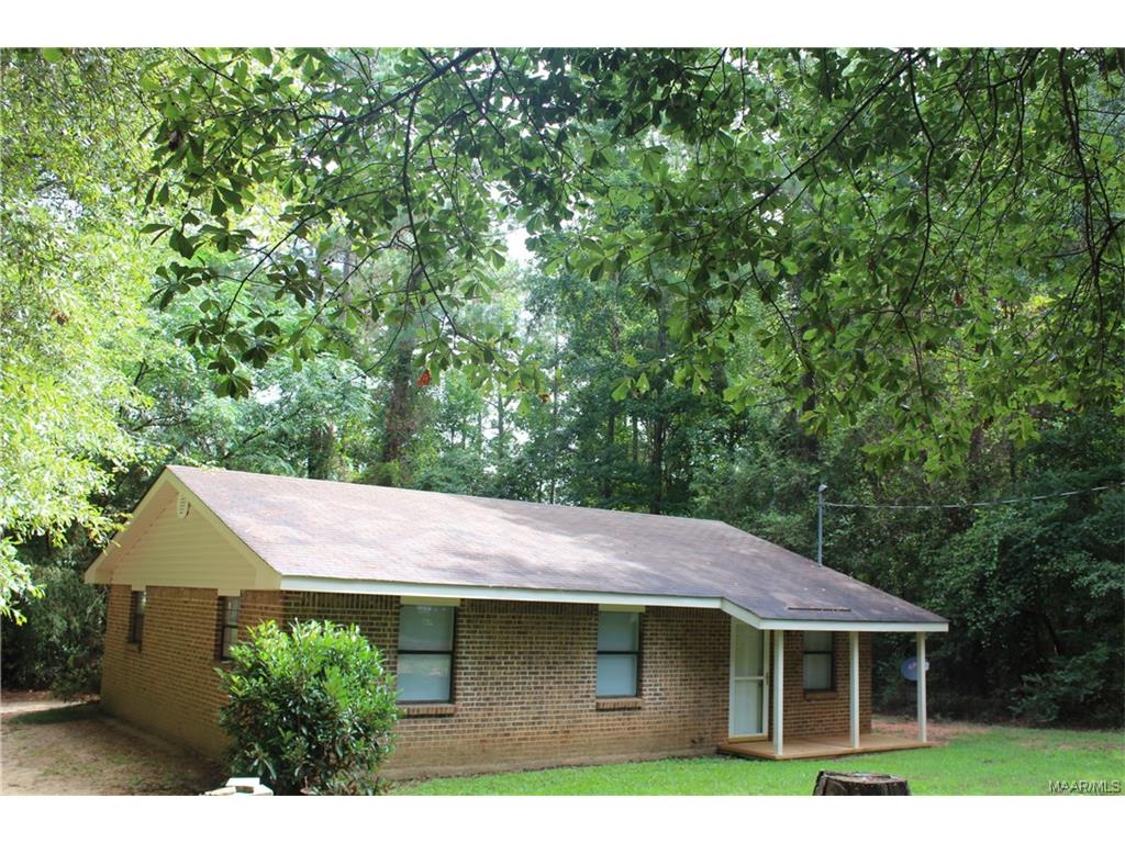 If you can pay rent, then you maybe able to own this charming 3 Bedroom, 1 Bath home.  Recently updated, there is new carpet throughout. That's not all - there are new appliances in the kitchen. Located approximately 10 minutes from Elmore County High School and approximately 10 minutes from Tallassee High School.