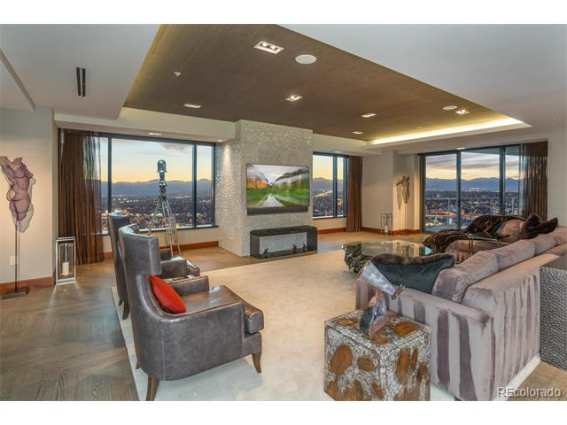 Experience true luxury that is only experienced by a few. Presenting the excellence of modern elegance, the Private Residence Flat 3800 at the Four Seasons is unparalleled to any other property that has been offered for sale in Denver. Detailed craftsmanship was executed in the overall look of this half floor custom flat exuding the ultimate feeling of luxury. This extraordinary level of artistry can only be accomplished by this standard of craftsman. Incorporating timeless materials, contemporary lines and a thoughtfully designed floor plan the inspirational design implemented by the designer is all at once stunning and inviting. Two large terraces, one living and one dining, bestow the most breathtaking views of Denver's ever-evoking skyline and the entirety of the Rocky Mountain Range.
