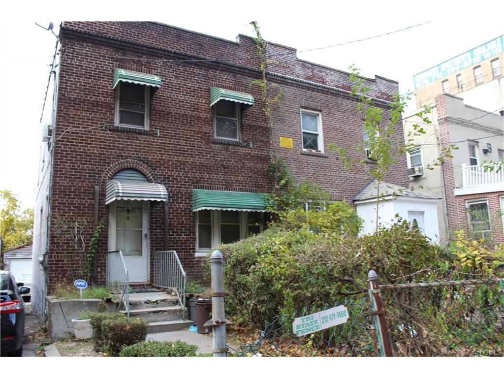 2081 Cedar Avenue, call Listing Agent, NY 10468