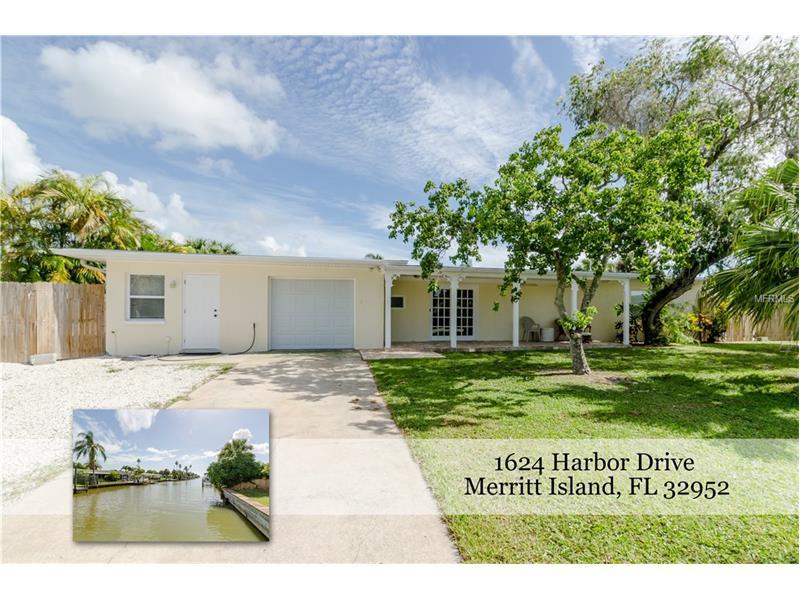 1624 HARBOR DRIVE, MERRITT ISLAND, FL 32952