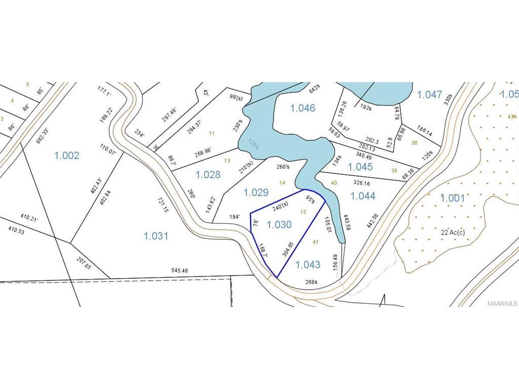 Lot 14 & 15 Heron Point River, Lowndesboro, AL 36752