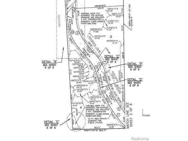 700 Pinery Blvd., ORION TWP, MI 48362