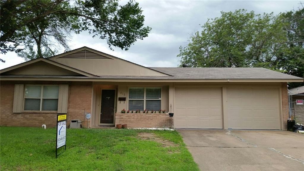 415 Elaine Drive, Irving, TX 75060