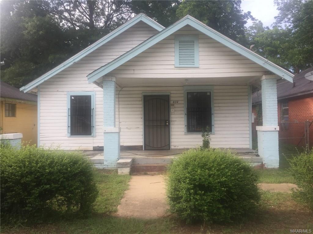634 Clarke Street, Montgomery, AL 36108