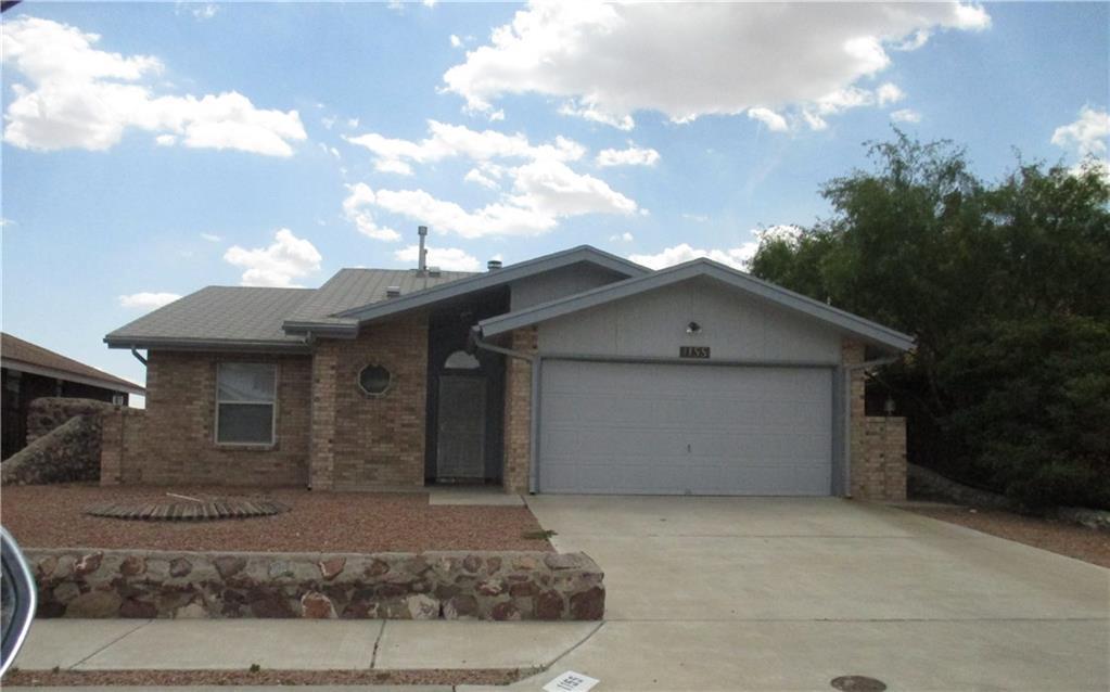 1155 Upper Canyon Place, El Paso, TX 79912