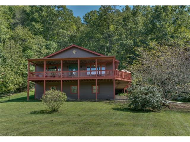 This lovely home was completed by current owner in 2013. Home features 2BR/2BA plus office.  Open floor plan with large great room, beautiful kitchen with Stainless appliances (gas stove) and breakfast bar. Peaceful valley setting with year round mountain views and 180 ft of frontage on Little Creek .  Wrap around deck for enjoying the changing seasons and partially  fenced yard for your furry friends. A MUST SEE!