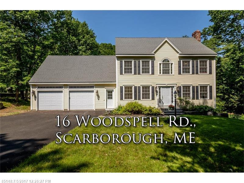 16 Woodspell RD , Scarborough, ME 04074