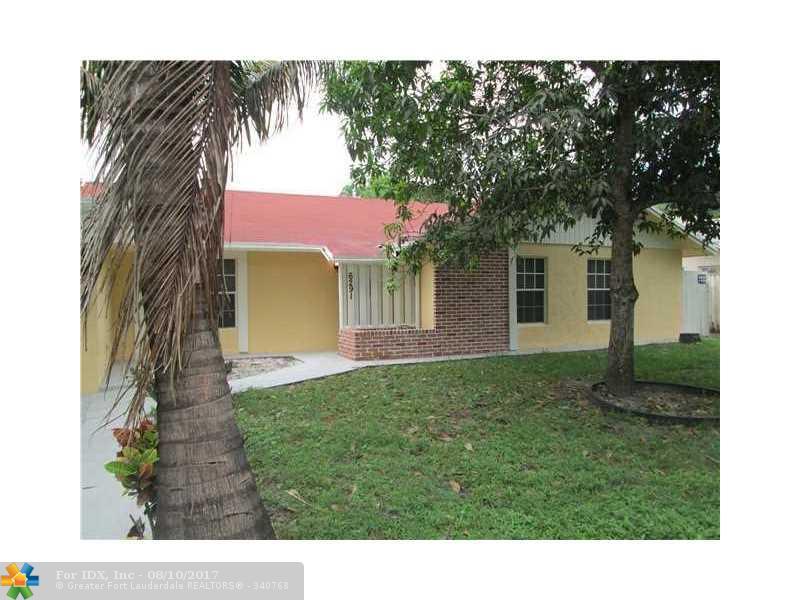 6291 SW 7th Ct, Margate, FL 33068