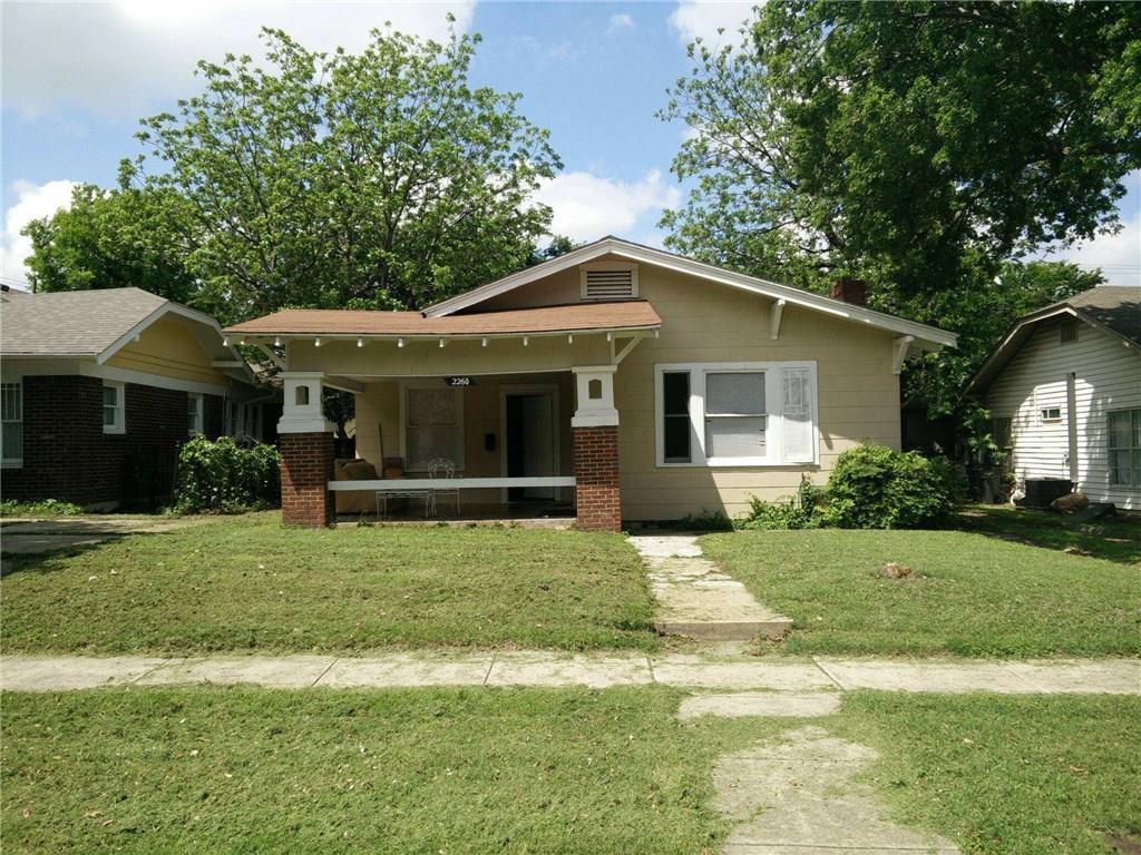 2260 Hurley Avenue, Fort Worth, TX 76110