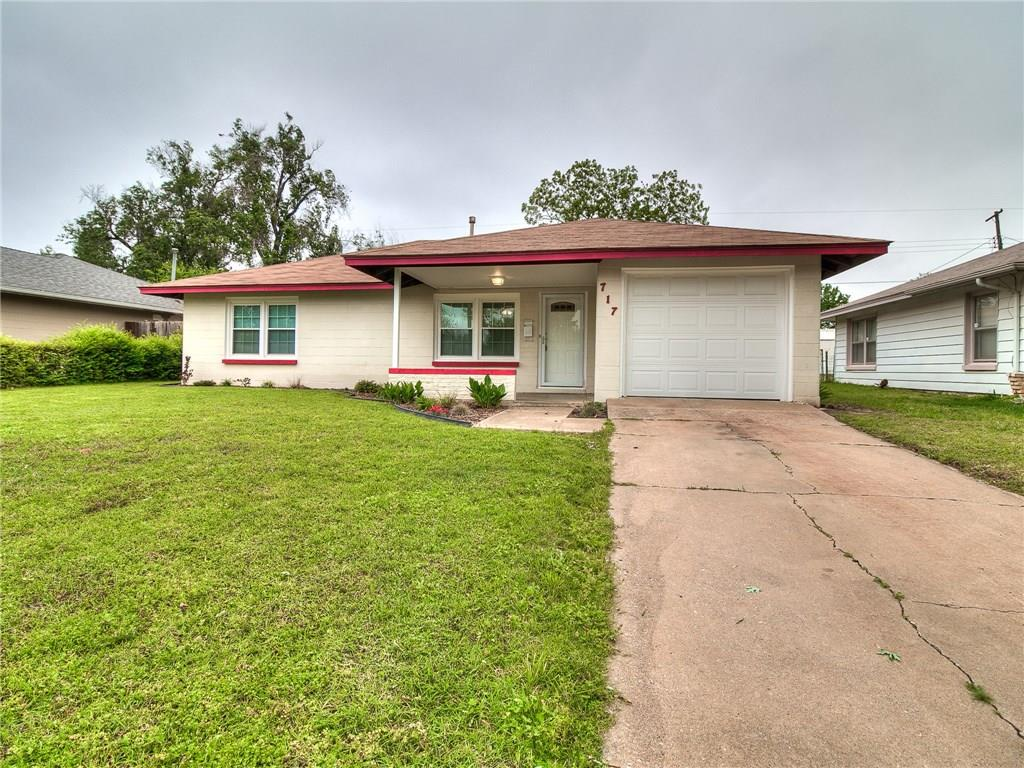 717 E Frolich Drive, Midwest City, OK 73110