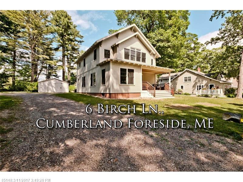 6 Birch LN , Cumberland, ME 04110
