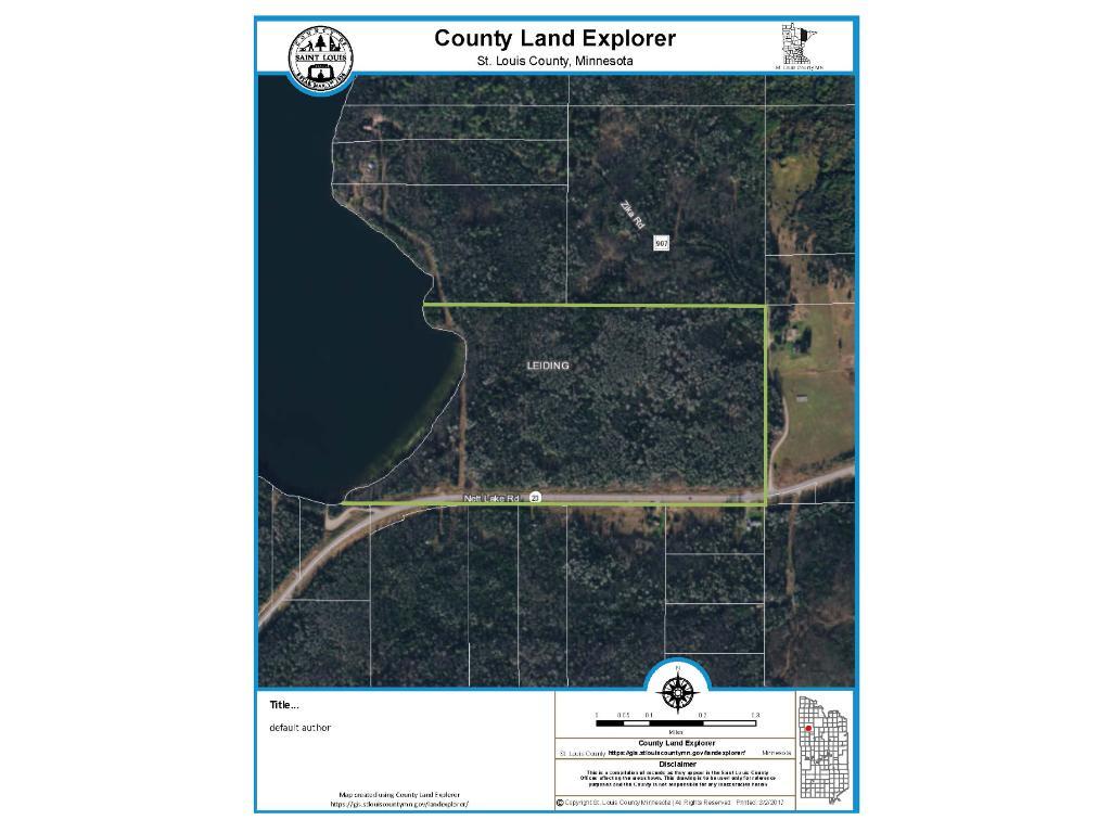 10943 Nett Lake Road, Orr, MN 55771