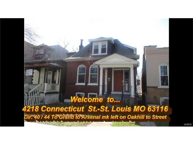 4218 Connecticut Street, St Louis, MO 63116