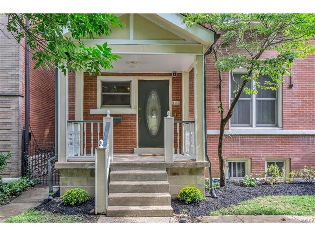 Fantastic opportunity to own a 4 bedroom/2.5 bath home in the much desired neighborhood of the Central West End. This 2.5 story home offers countless updates including fresh paint throughout (2015), New HVAC unit (2017), and spot tuckpointing (2017). As you walk into the foyer of the home, you will find tall ceilings and original woodwork with modern touches. The newly renovated kitchen (2015) includes new flooring, new cabinets, new countertops, new appliances, new sink and backsplash, and the opening of a wall. The two bathrooms on the second floor have been completely renovated as well and include new flooring, toilets, lighting, tub, and custom shower in the master bath. On the second floor, you will find an additional cozy family room. As you enter the backyard, you will find a large deck great for entertaining overlooking a spacious grassy backyard and 1 car garage. LOCATION! LOCATION! LOCATION! This home is near highway 64/40, as well as near lovely restaurants and shops.